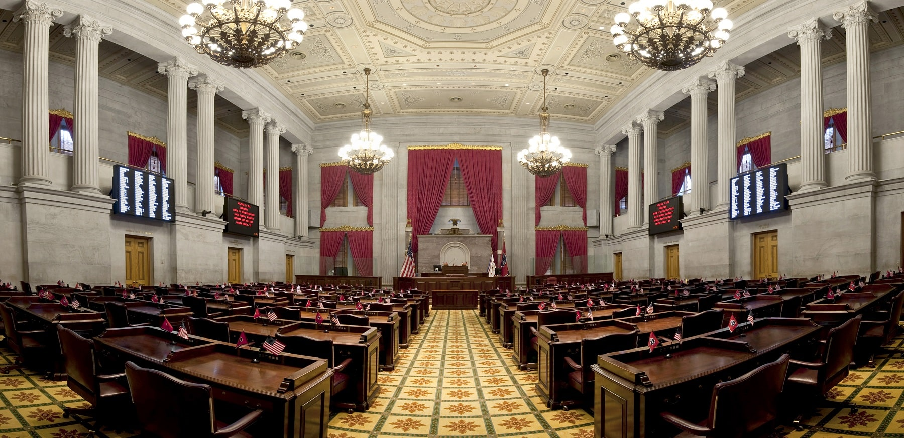 stock photo of TN State Capitol