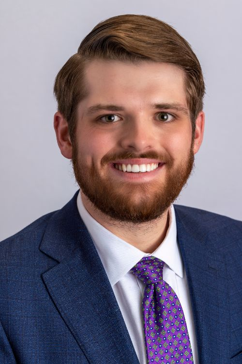 headshot portrait of Zach Roberts